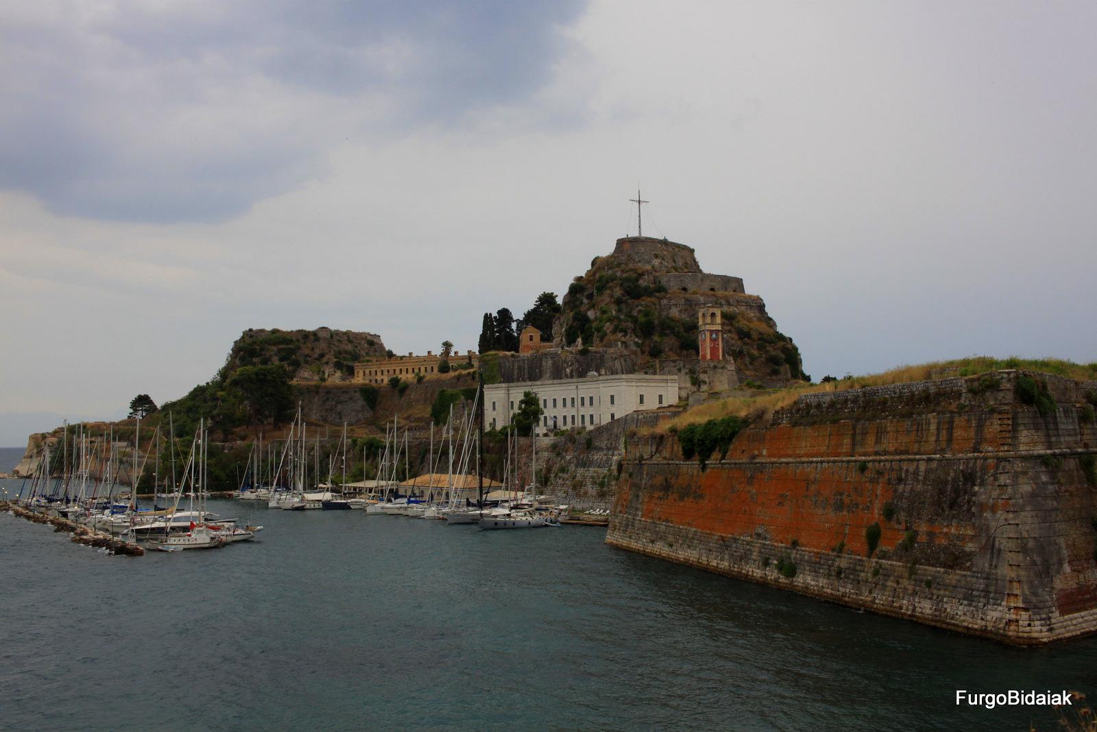 Fortaleza de Corfú Grecia