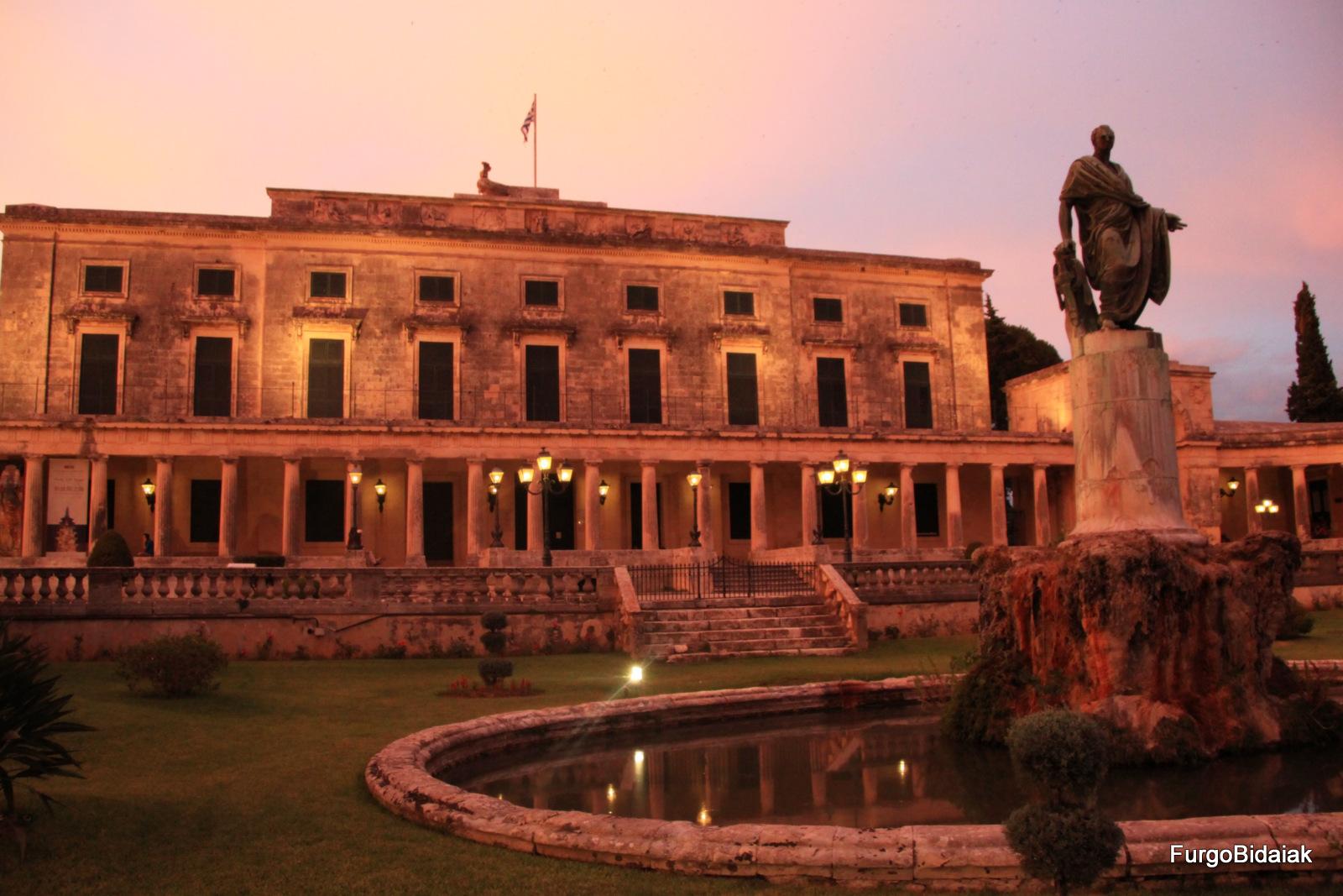 museo de arte Asiático Corfú Grecia
