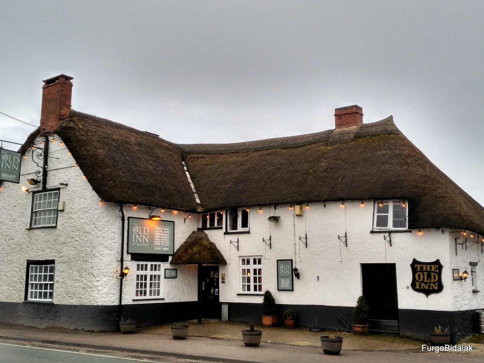 The Old Inn, Britstops, FurgoBidaiak