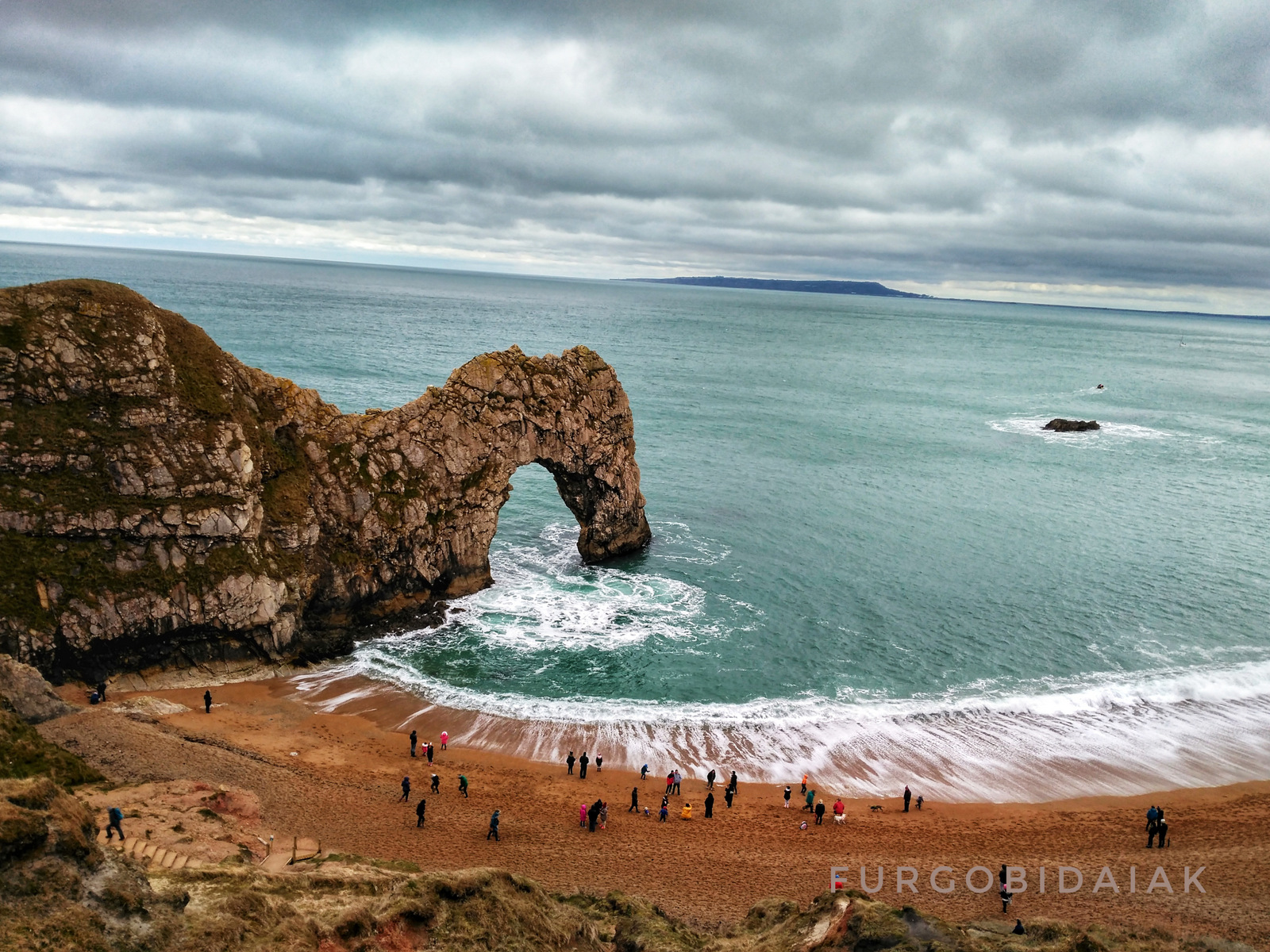 Durdle door, La Costa Jurásica