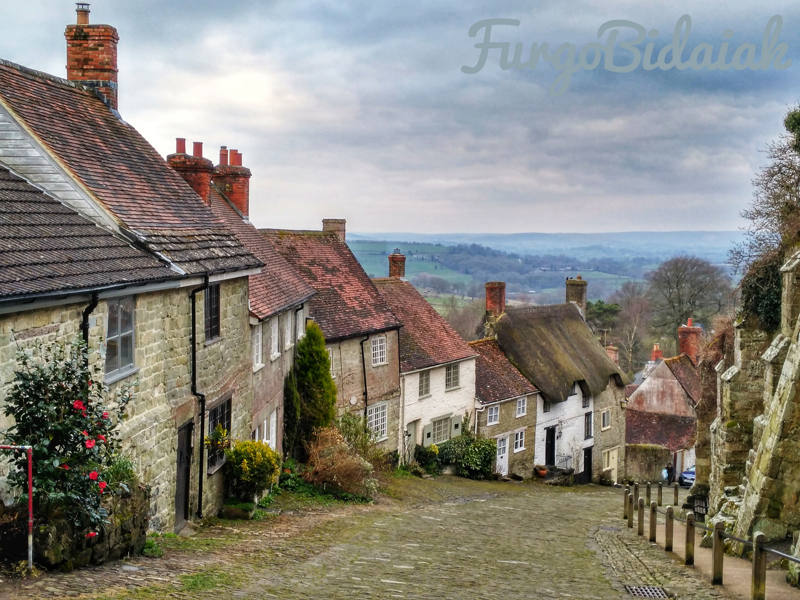 The Gold Hill, Shaftestbury, FurgoBidaiak