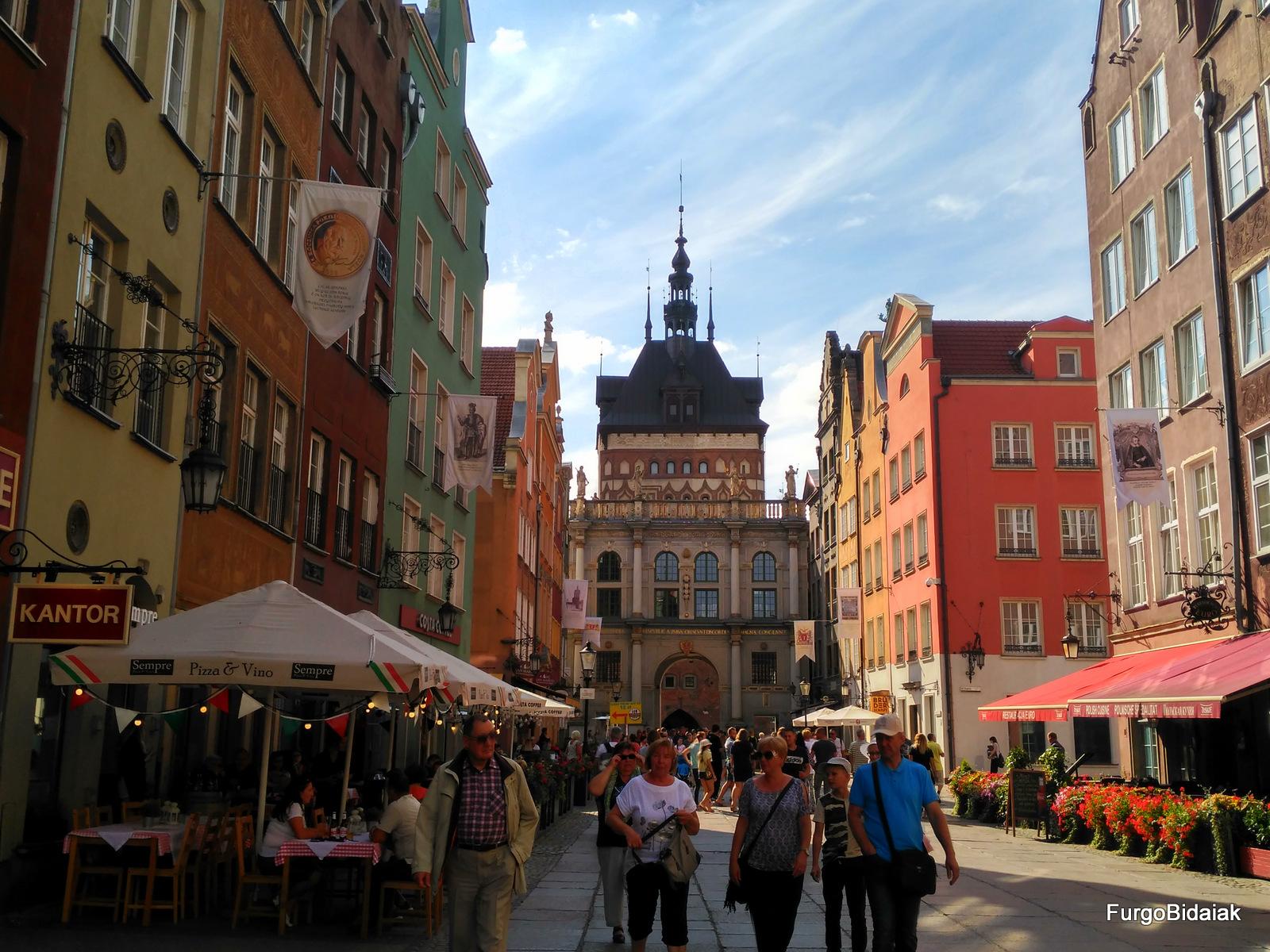 Puerta Dorada, Camino Real, Gdansk, Polonia