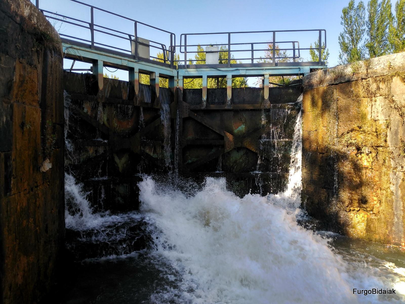 Esclusa nº6, Herrera de Pisuerga, Canal de Castilla