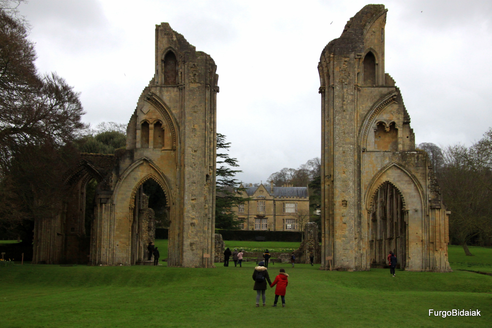 Glastonbury abbey, Inglaterra