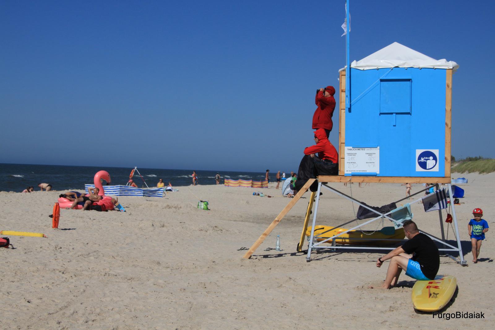 Mar Báltico, Czerwona Szopa, Polonia, Ruta Báltica