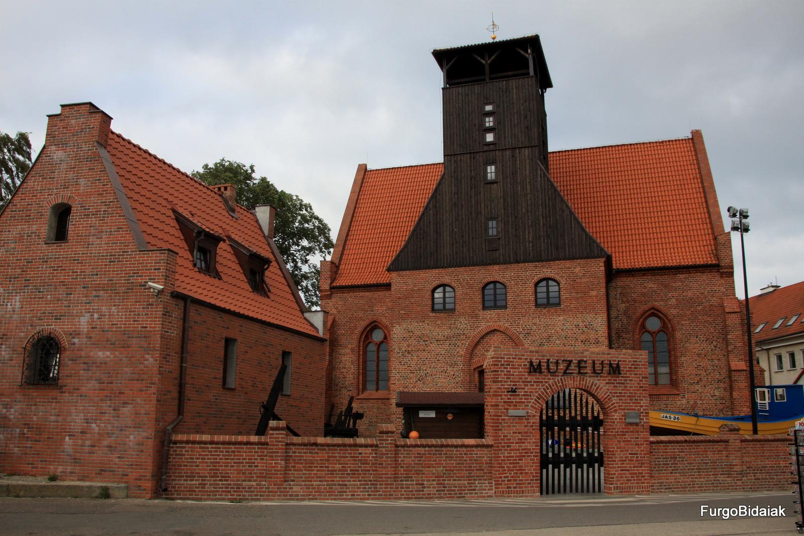 Museo de la pesca, Hel, Polonia, Ruta Báltica