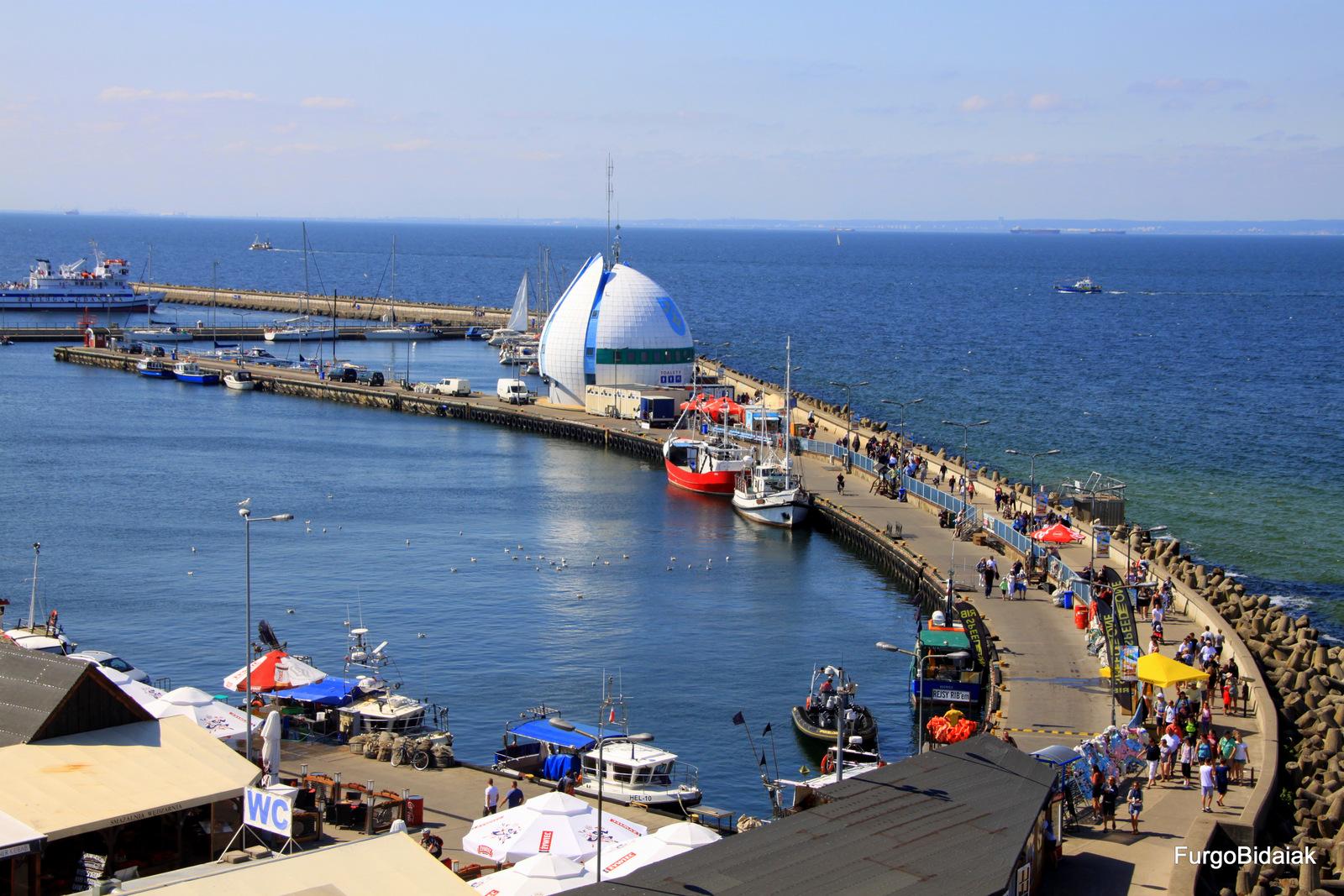 Puerto de Hel, mar Báltico, Polonia