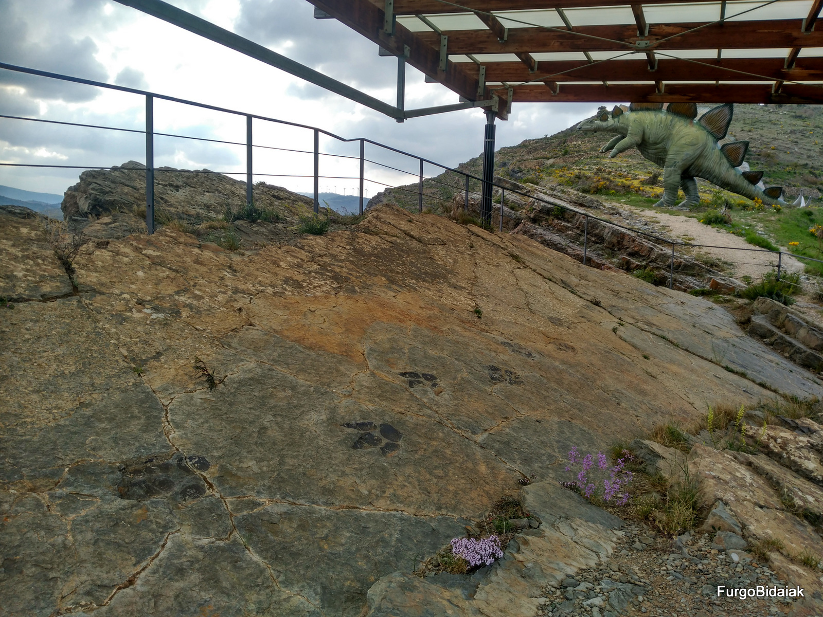 Ruta de los dinosaurios, Yacimiento Peñaportilla, La Rioja