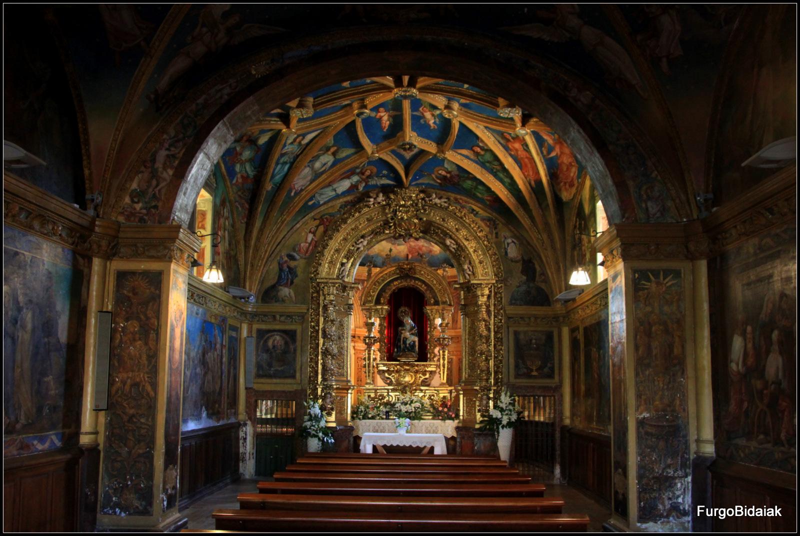 Ermita de la Virgen de  la Piedad, la Capilla Sixtina Castellana,Palencia