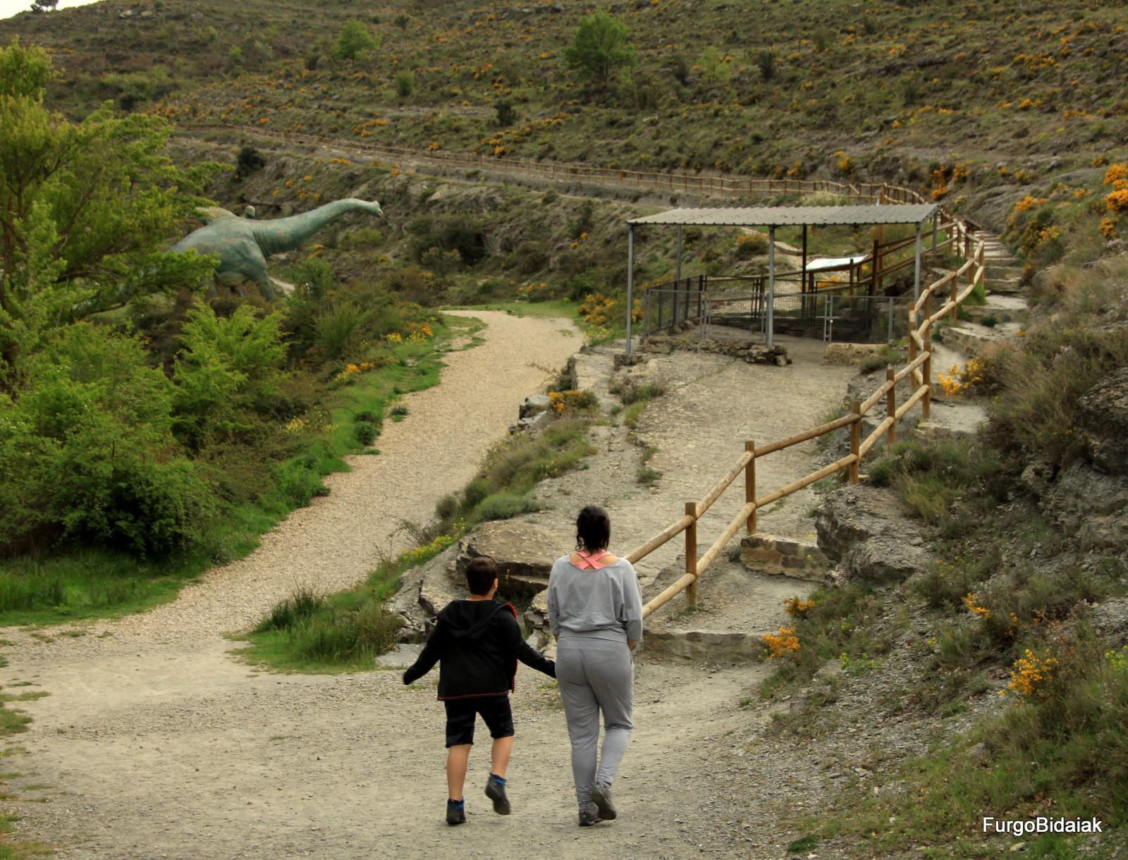 Ruta de los dinosaurios, Valdecevillo , La Rioja