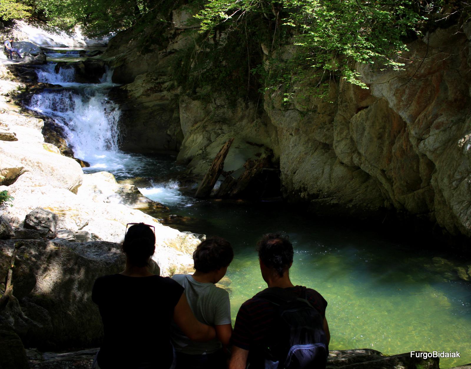 Selva de Irati, cascada el Cubo
