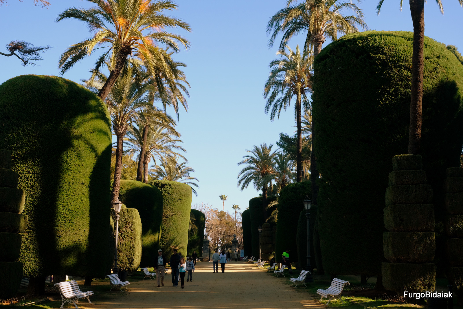 Parque Genovés, Cádiz accesible