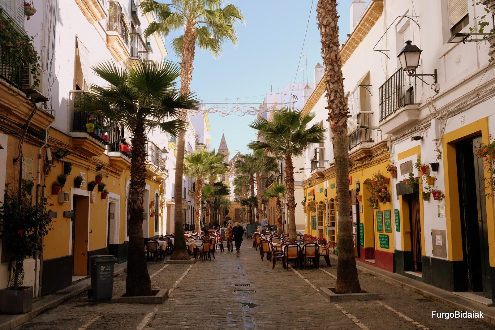 Barrio de la Viña, Cádiz accesible