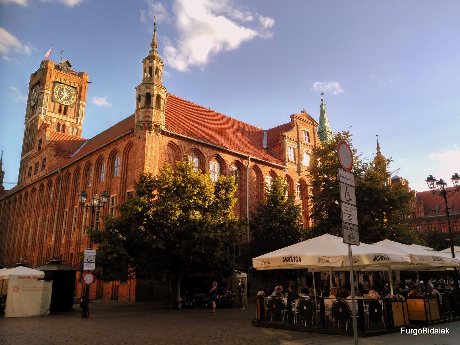 Ciudad Vieja de Torun, ruta de los caballeros teutónicos, Polonia