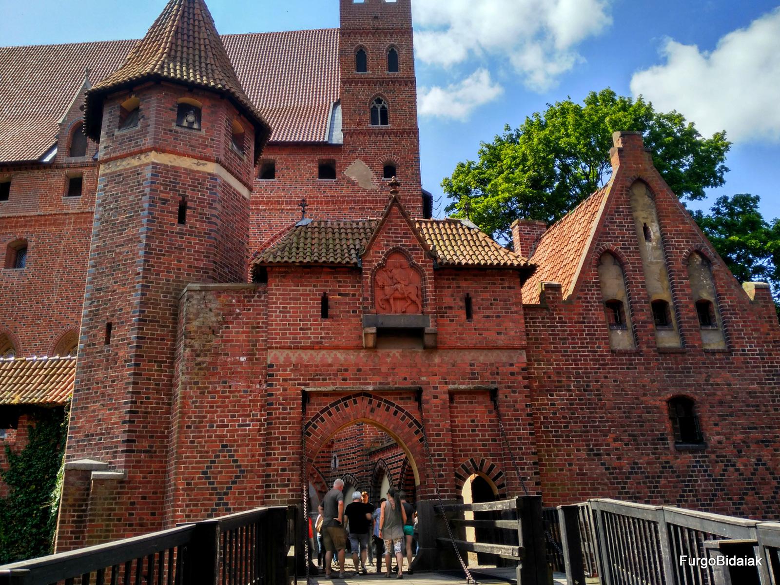 Castillo de Malbork, ruta de los teutones, Polonia