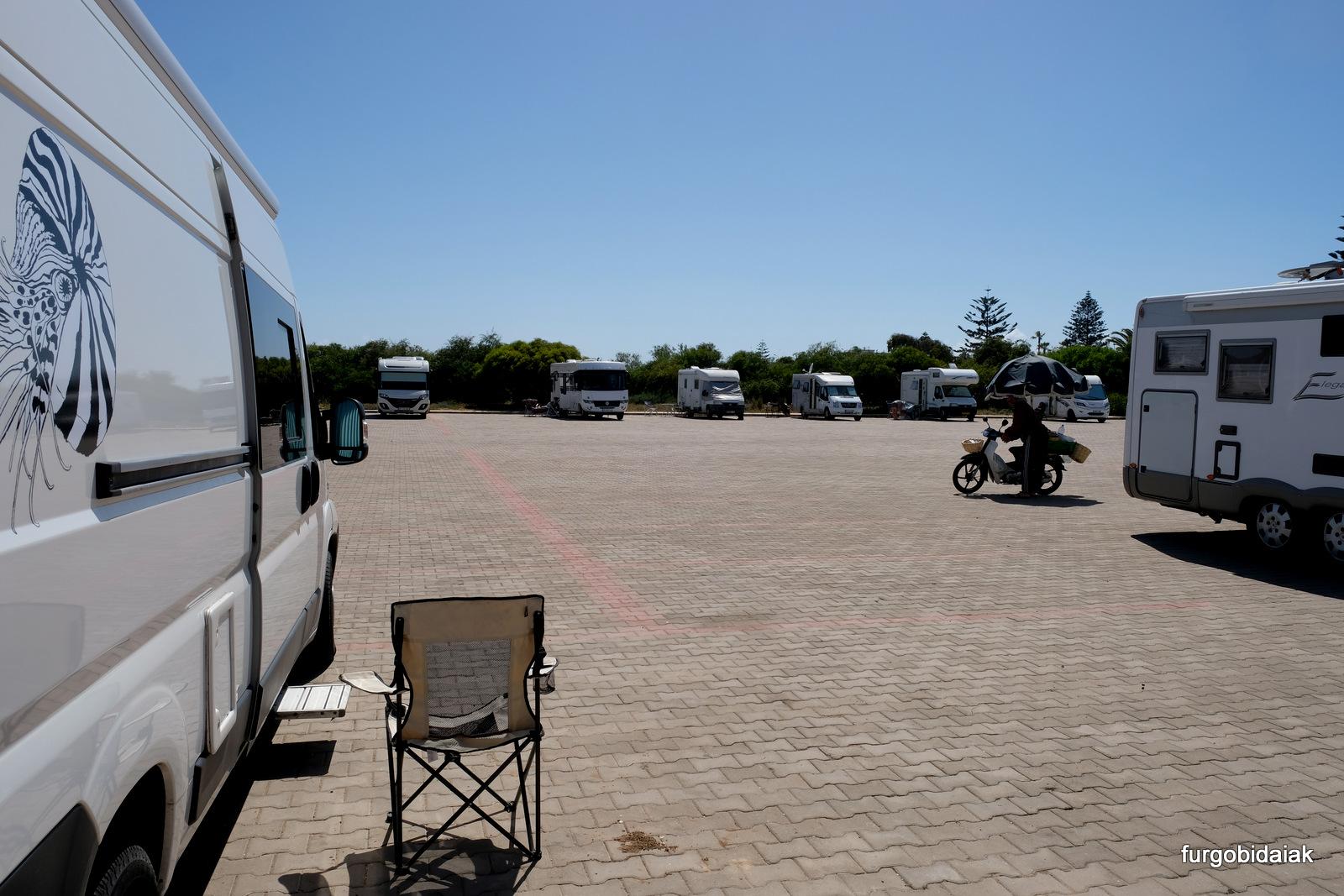 Parking de Oualidia