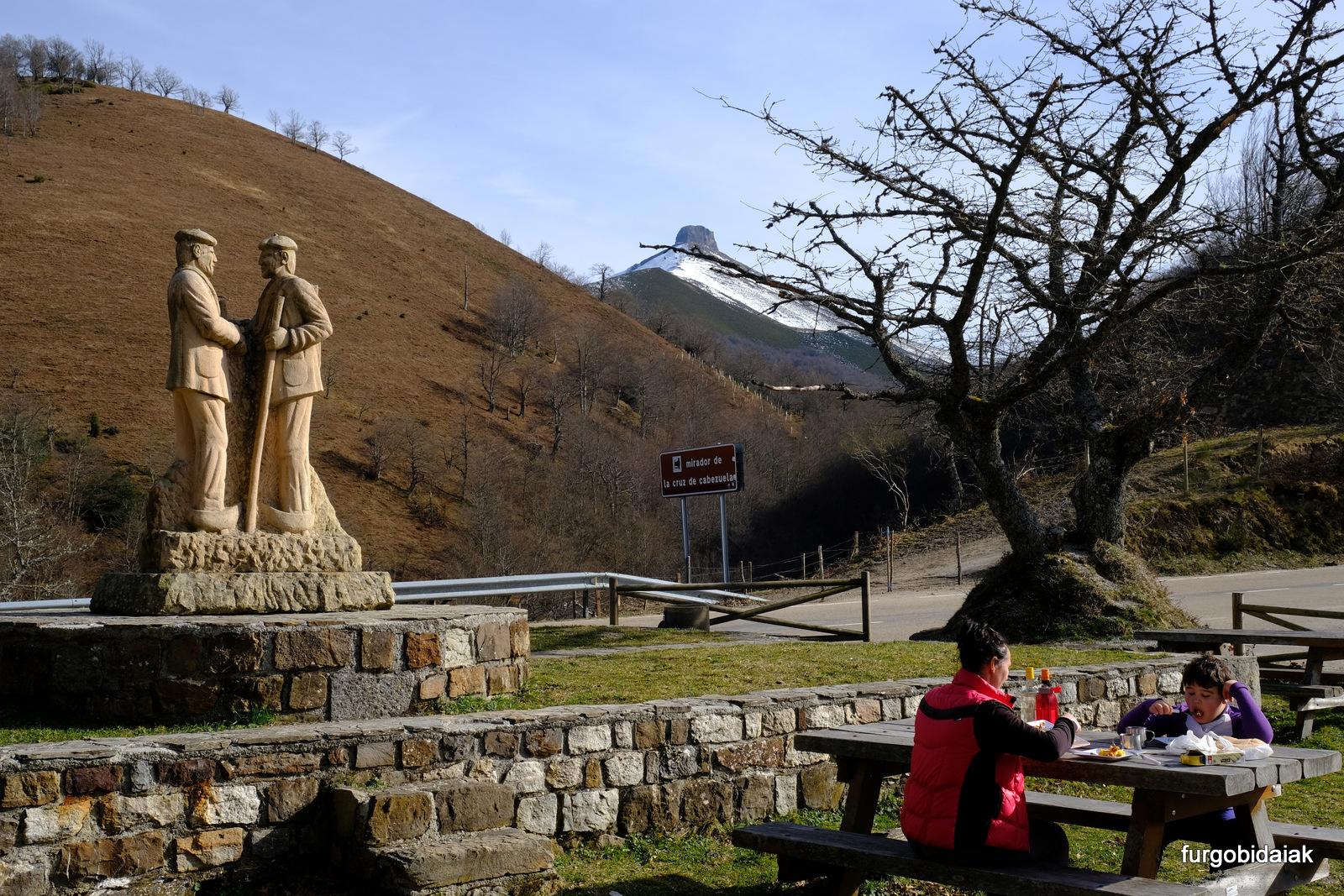 mirador Cruz de Cabezuela, Cantabria