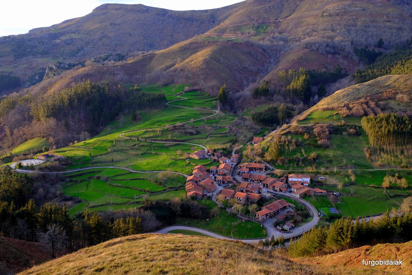 mirador Asomada del Ribero,Saja-Nansa, Cantabria
