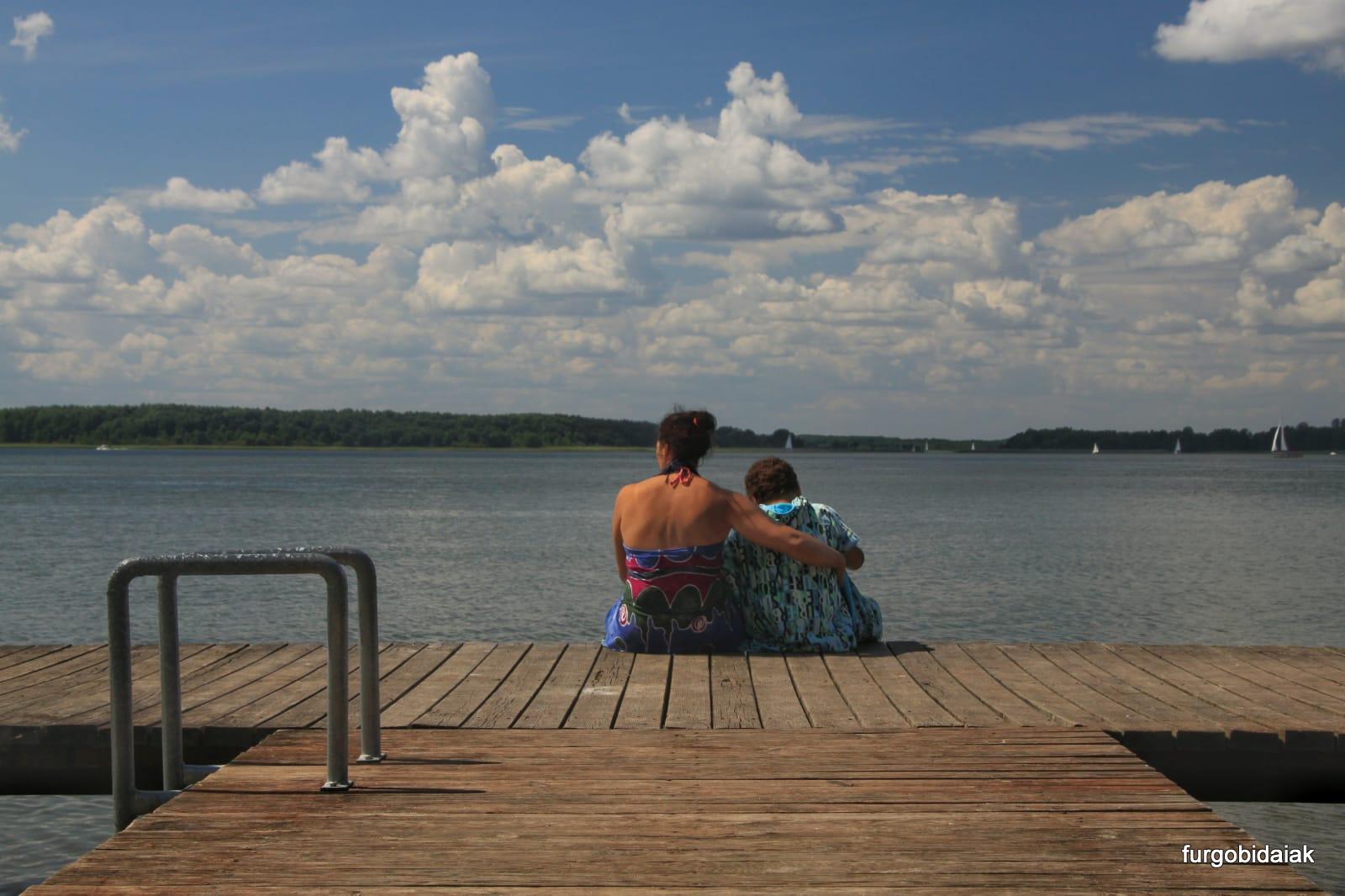lago Swiecajty, Mazuria, Polonia