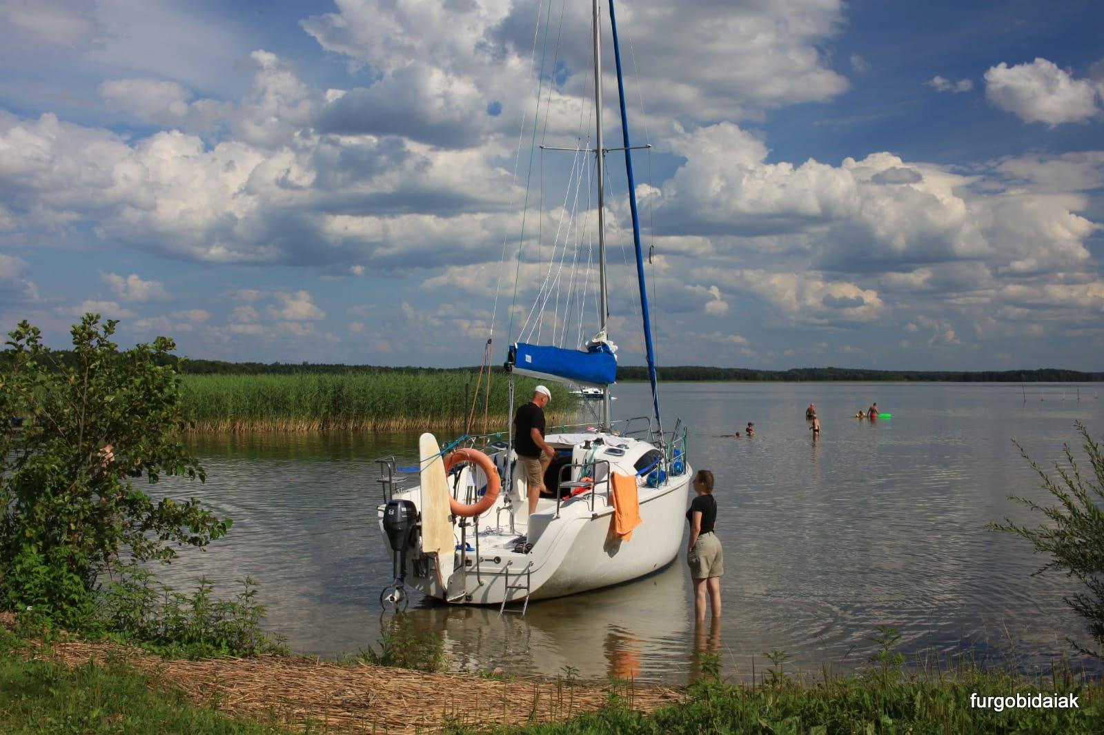Lago Darging,Mazuria, Polonia