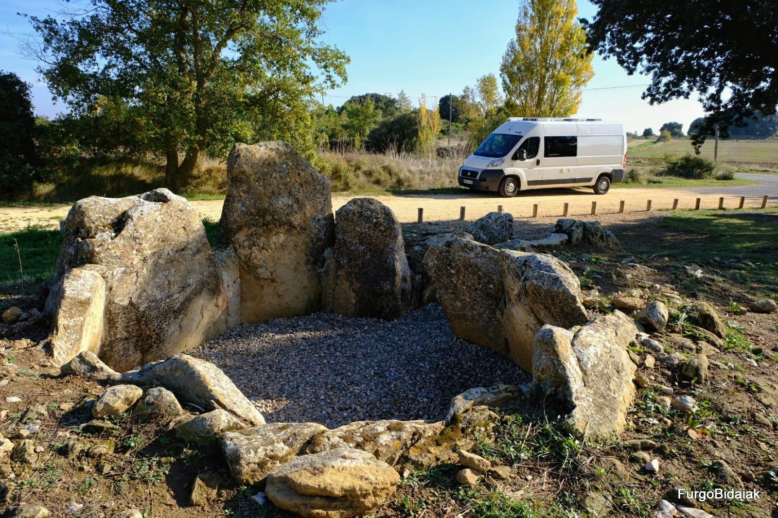 Dolmen el Sotillo, Ruta de los dólmenes, Rioja Alavesa, Araba