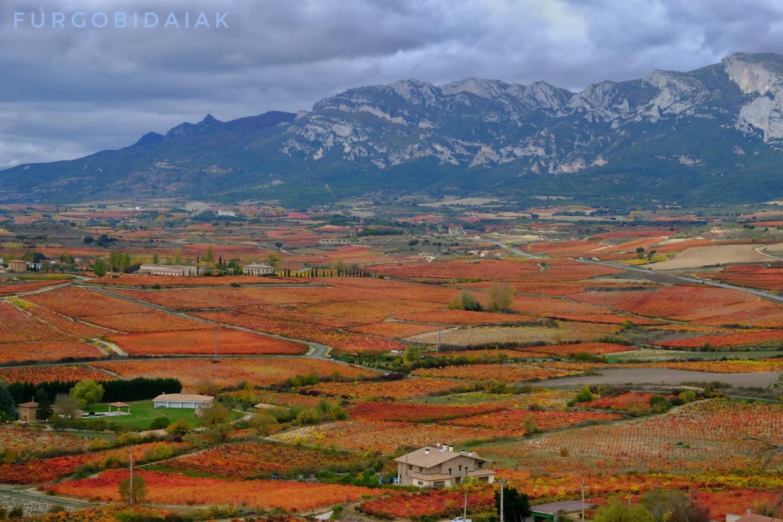 Mirador de Laguardia, Rioja Alavesa