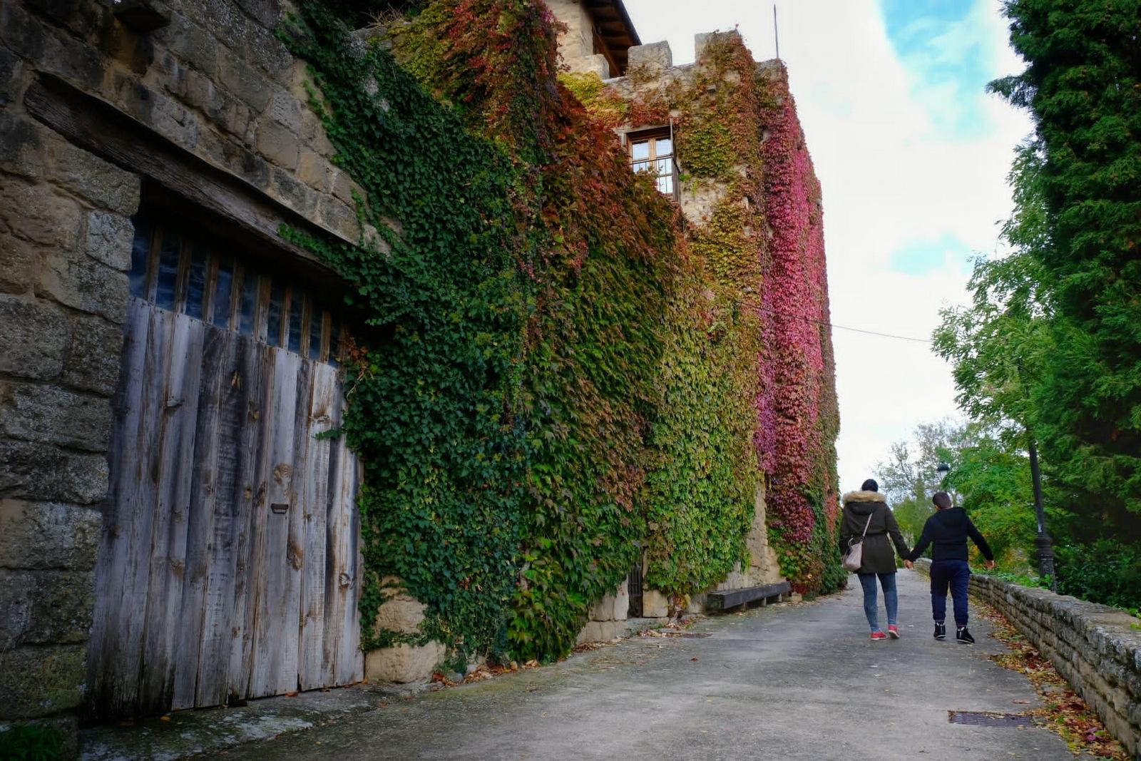 Paseo de ronda, Labraza, Rioja Alavesa