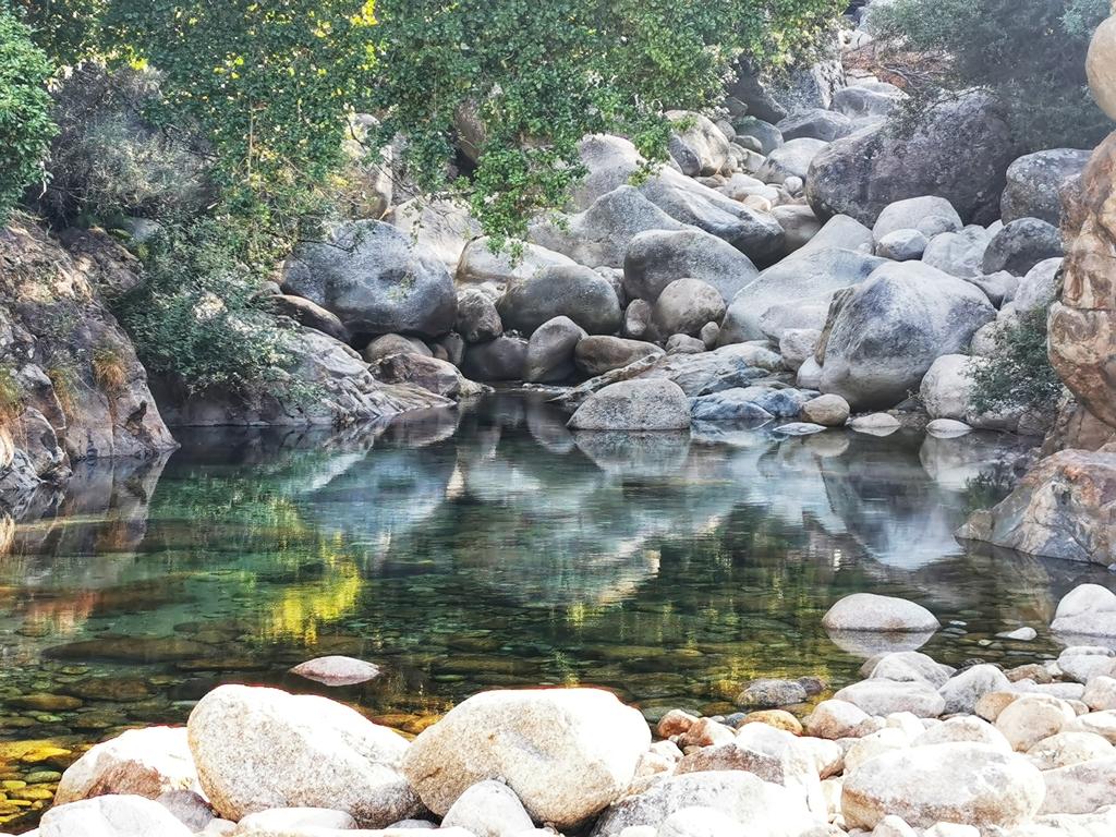 Charco La Máquina. Las mejores piscinas naturales de La Vera.