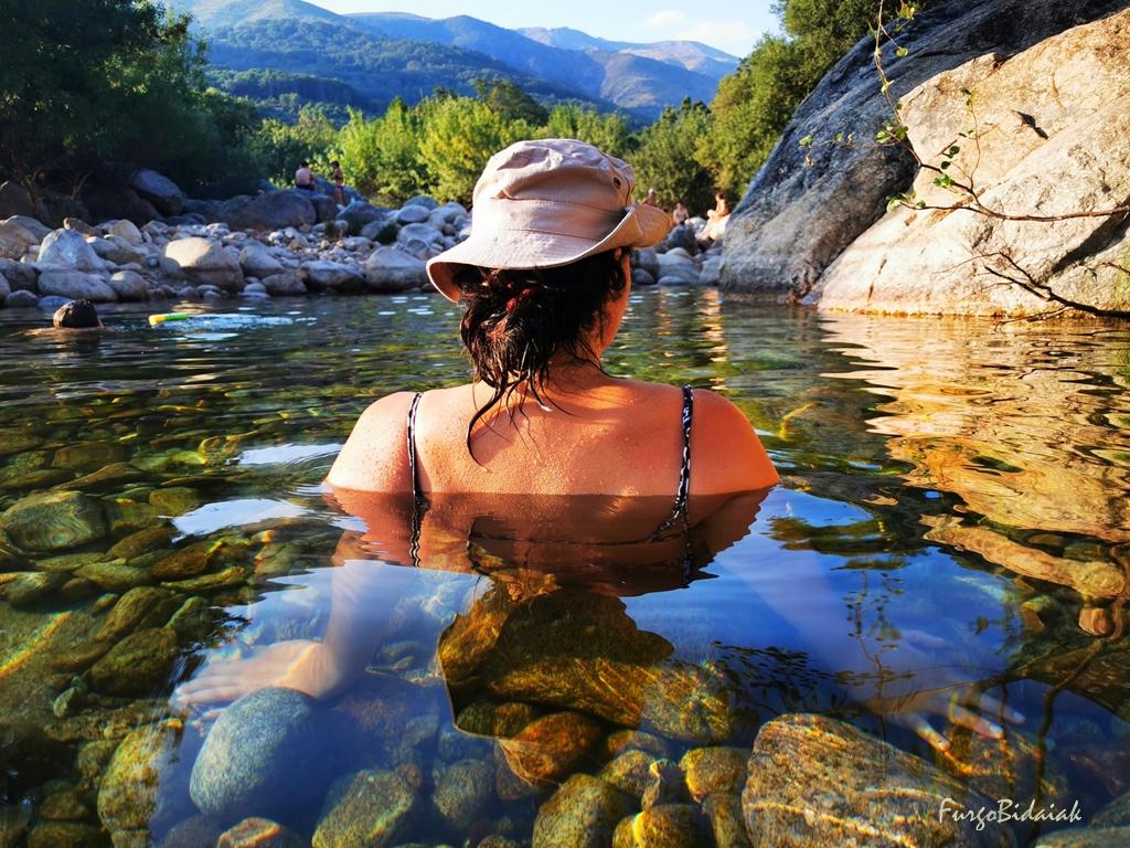 Charco Los Frailes. Las mejores piscinas naturales de La Vera.