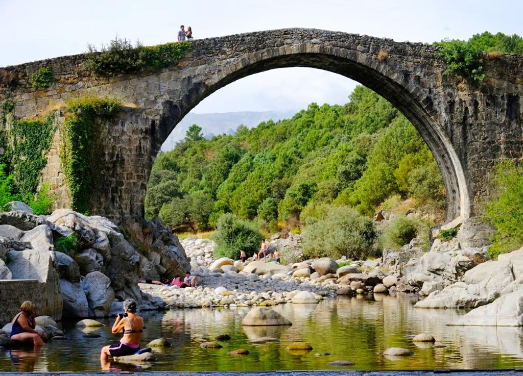 Garganta Alardos. Las mejores piscinas naturales de La Vera.