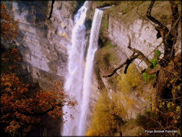 Parque Natural Gorbea, Cascada Gujuli