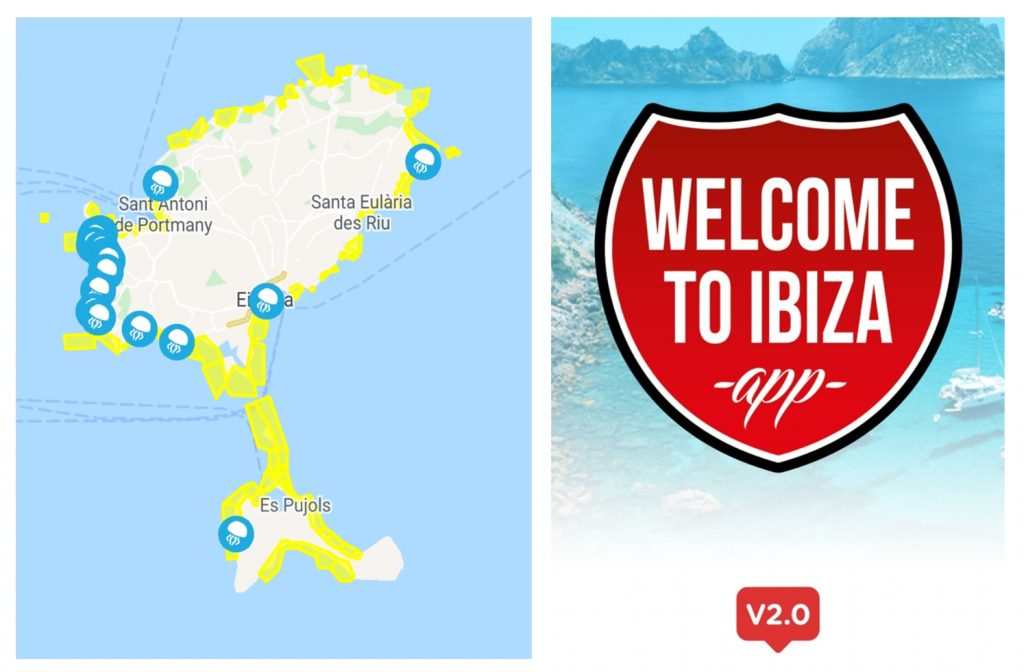 Ibiza en autocaravana, apps interesantes