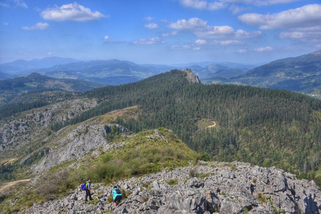 Gorbea, cima del monte Garaio